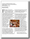 Report on the 2006 Summer Session on Contemplative Curriculum Development