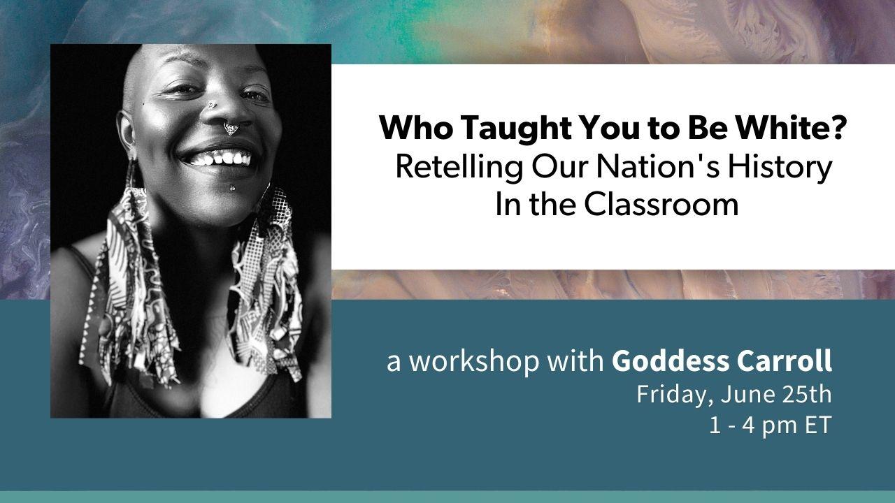 June 25 workshop with Goddess