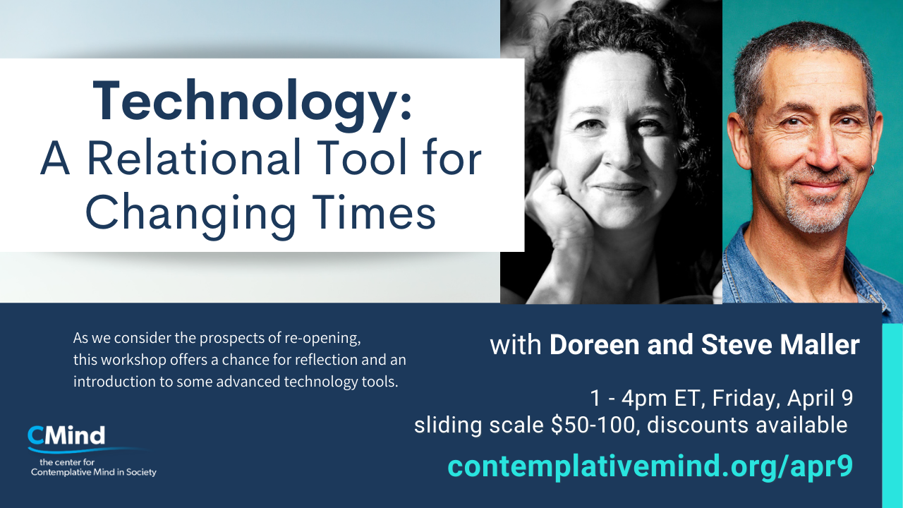 Technology workshop on April 9 with Steve and Doreen Maller