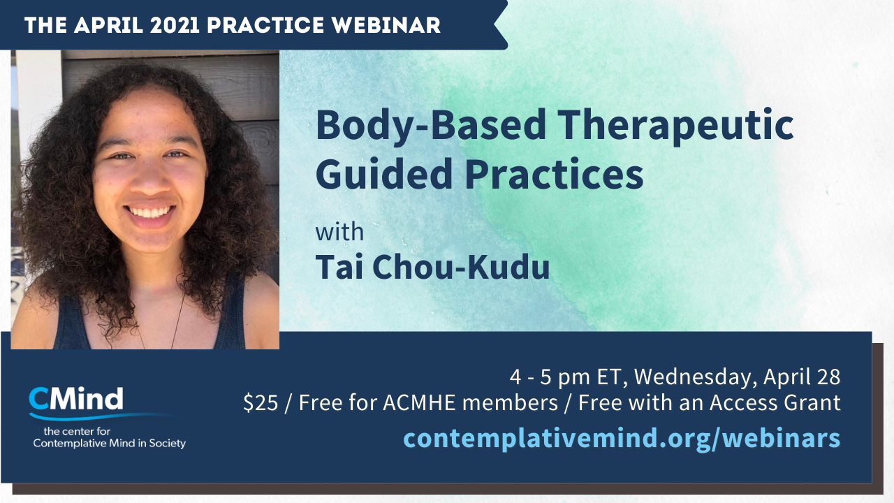 Tai's webinar on Body-Based Therapeutic Practices