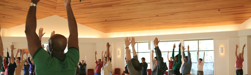 Yoga at a Retreat for Lawyers